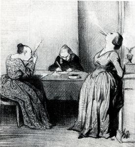daumier-hosenlose-blaustruempfe-1844
