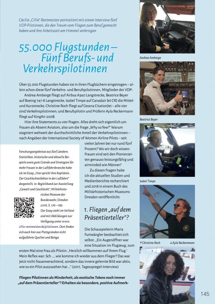 Rentmeister Profi-Pilotinnen Interviews